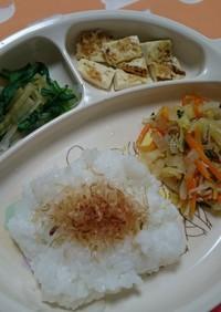 離乳食完了期☆簡単甘酢野菜炒め