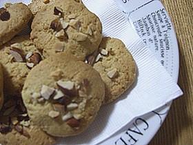 ナッツ!なクッキー