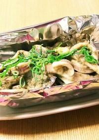 イカの蟹味噌炒め