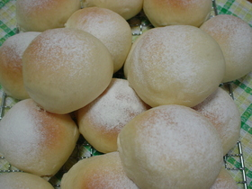 ~ハイジの白パン(*^_^*)~