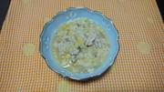 残りものおでんで高野豆腐の粉とじの写真