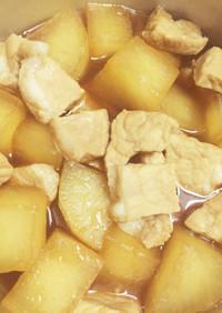 すし酢で簡単♪大根と豚のさっぱり煮
