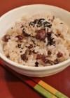 圧力鍋♪省エネ小豆・米・もち米の美味赤飯