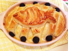 ジブリ飯☆ニシンとカボチャのパイ包み
