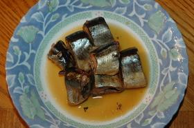 圧力鍋でほっこり煮上げる☆ニシンの生姜煮