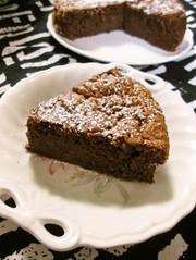 ヘルシー☆しっとりチョコレートケーキの写真