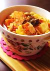 節分豆で♪ゴロ②野菜の食べるトマトスープ