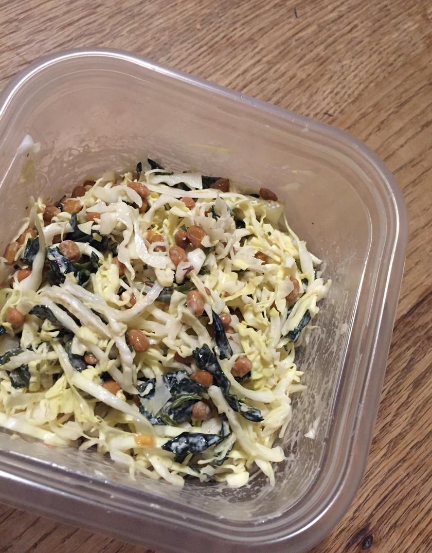 ヨーグルトで戻した海藻サラダ