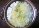 簡単!白菜たっぷり湯豆腐