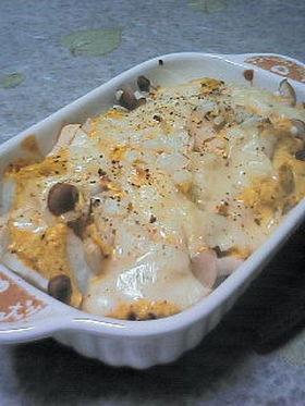タンドリーチキンの漬けダレdeポテト焼き