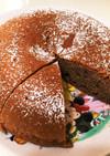 炊飯器で簡単ココアケーキ♪( ´▽`)
