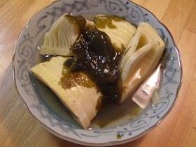 竹の子と若布の煮物