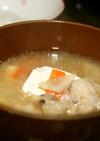 鍋つゆの素アレンジ✩ほっこり肉団子スープ