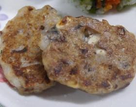 離乳食後期 イワシと豆腐のハンバーグ