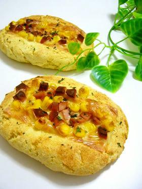 ♡ホットケーキミックスとおからのパン♡