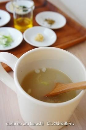 マグカップで作る本物おだしの味噌汁