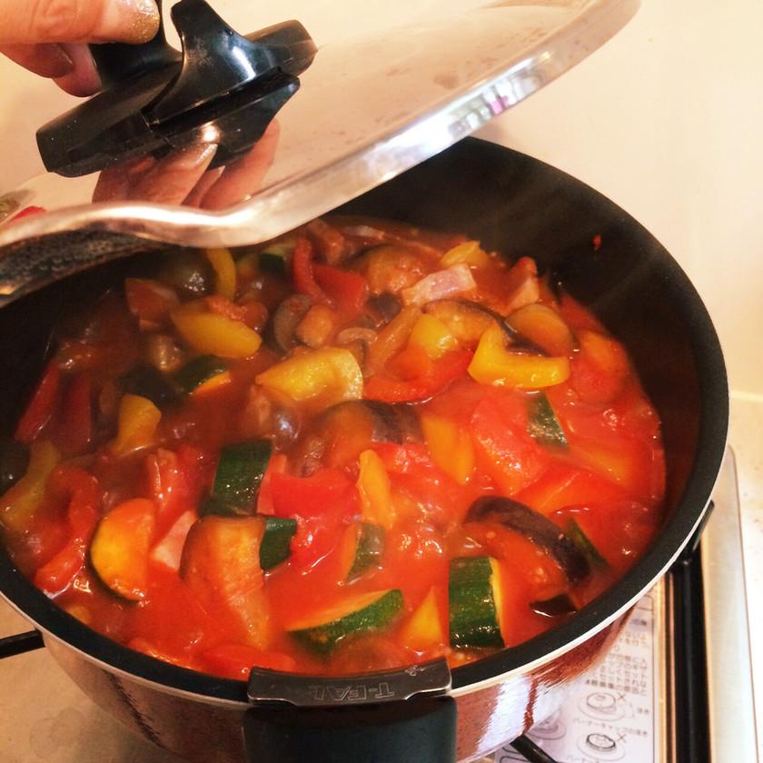 とても簡単!トマト缶で!絶品ラタトゥイユ