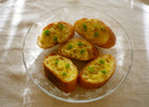 オリーブオイルでガーリックトースト