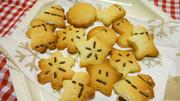 冬模様のサクサククッキーの写真