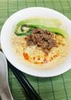 サッポロ一番みそラーメンで✴豆乳担々麺✴