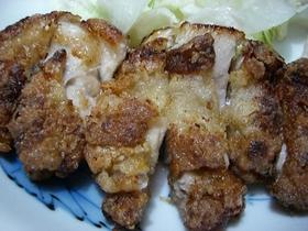 鶏のうまうまから揚げ(味噌味)