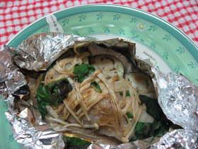 鱈のオイマヨホイル焼き