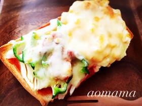 朝から贅沢トースト!!