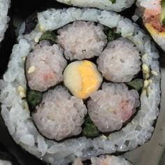 【飾り巻き寿司】ひな祭りに*桃の花*