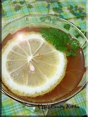 ジンジャエール☆レモンバーム紅茶割りの写真