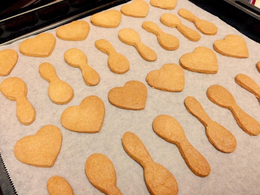 【卵・バターなし】 HMで簡単クッキー