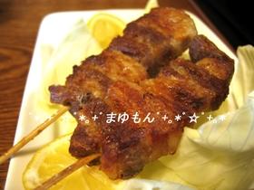 豚ばら肉の串焼き