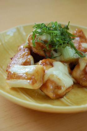 鶏むね肉の味噌チーズくわ焼き
