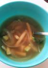 野菜たっぷりあったかスープ