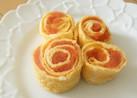 卵焼きの薔薇