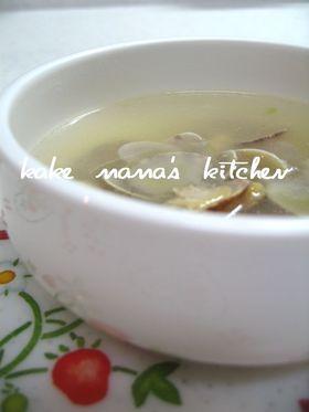 あさり♥♡中華スープ