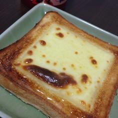 お腹かが空いたらハチミツチーズパン♪