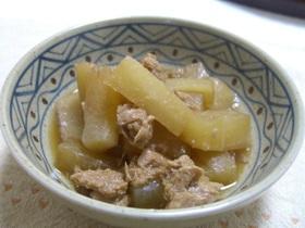 大根とツナの飴色煮