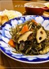 常備菜✿さきいかと刻み昆布の五目煮
