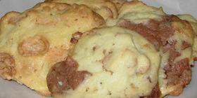 コーンフレークとチョコのクッキー