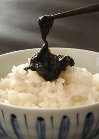 小松屋直伝・家庭で作る生のりの佃煮レシピ