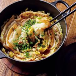 白菜と豚バラのオイスターソース煮