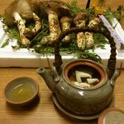 松茸の土瓶蒸しの写真