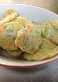 離乳食   豆腐と白身魚のおやき