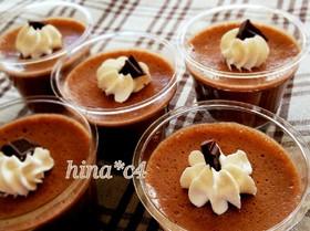 マシュマロで簡単チョコレートムース♪