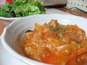 トマトチーズリゾット