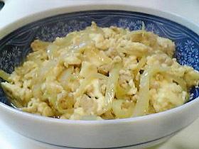 すき焼き風炒り豆腐