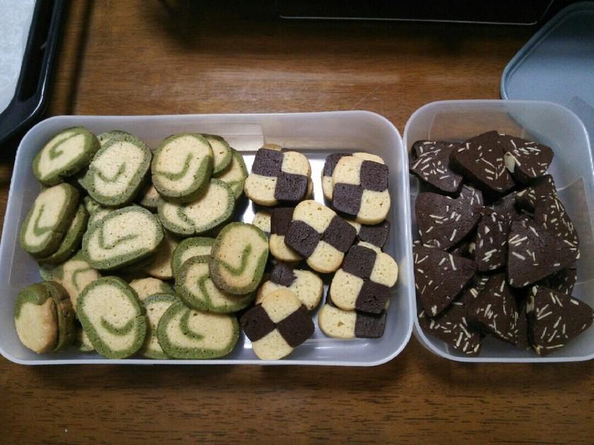 *3種のアイスボックスクッキー*