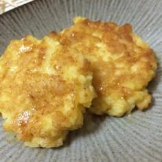 はんぺんで♬ふわふわ卵チーズ焼き