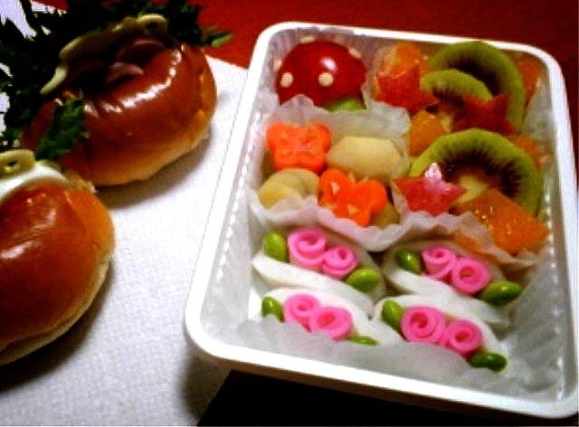 お弁当に!かまぼこ de お花☆