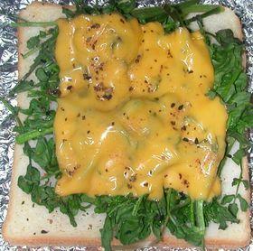 クレソン&チェダーチーズトースト
